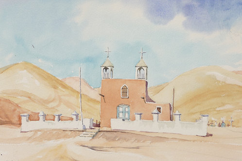 San Geronimo Church of Poconchile, 1990