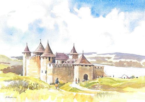 Khotyn Fortress, 2007