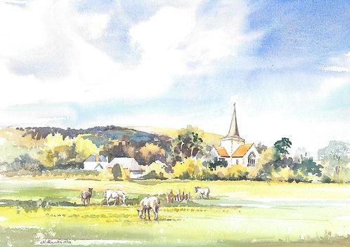 Alfriston village East Sussex