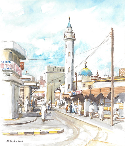 Muttrah Souq, 2002