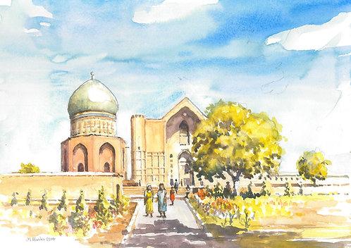 Mausoleum of Rabia Sultan Begim, 2014