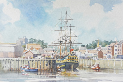 Whitby Harbour, 2007