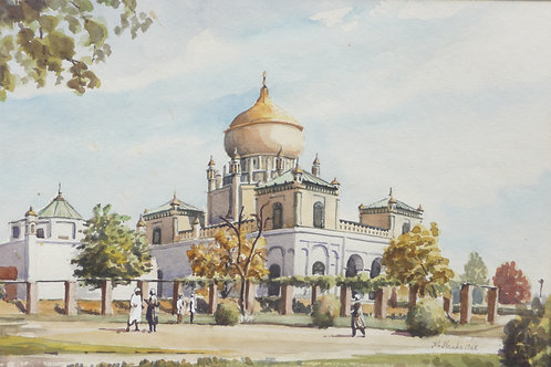 Mosque in Zameer Park, central Kabul, 1968