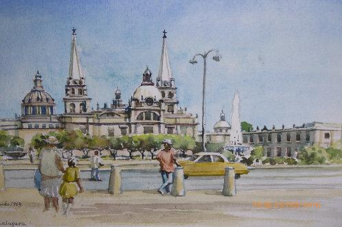 Guadalajara Cathedral, 1965