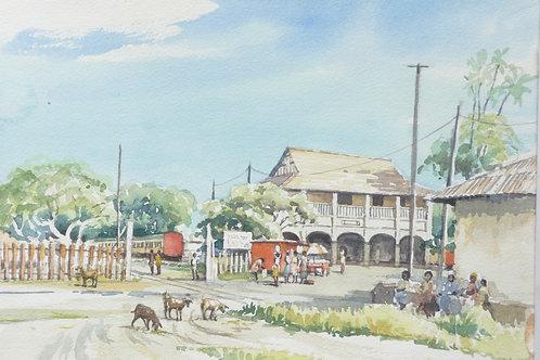 Mwanza Railway Station, 2000