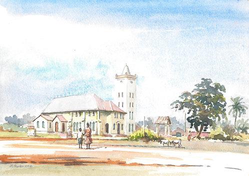 Ada Foah church on the south coast, 2004