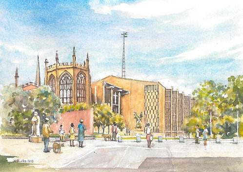 Coventry Cathedral, 2019