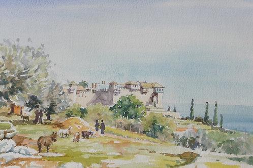Agia Lavra Monastery (A), 2005