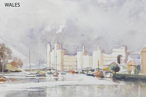 Caernarfon Castle, 1989