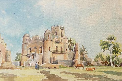 17th Century Palace at Gondar, 1993
