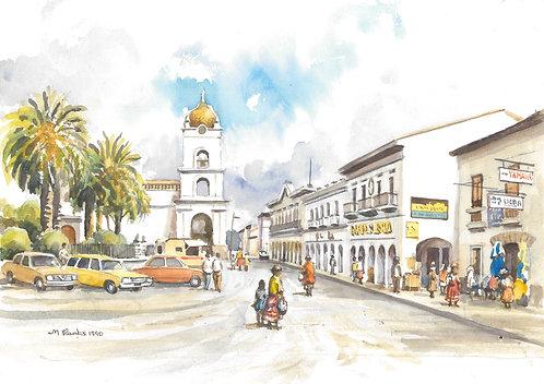 Latacunga, 1990