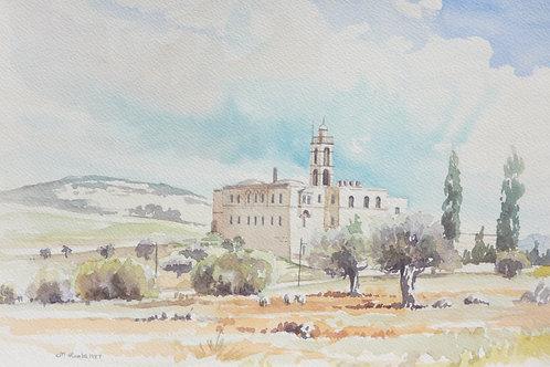 Mar Elias Monastery, south Jerusalem, 1987