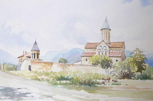 Alaverdi St. George Cathedral, Telavi, 2004