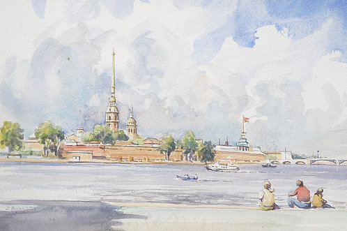 Peter and Paul Fort, St Petersburg