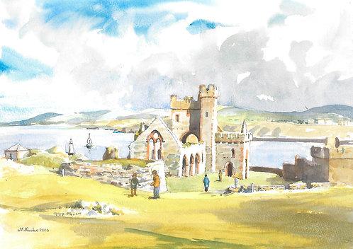Peel Castle, 2006