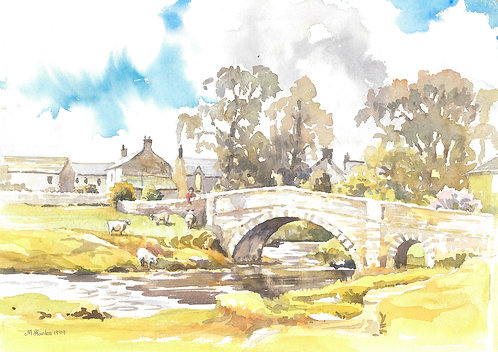Slaidburn, in the Forest of Bowland, 1999