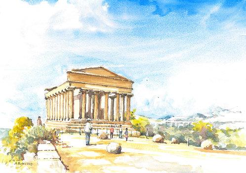 The Temple of Concordia, Agrigento, 2013