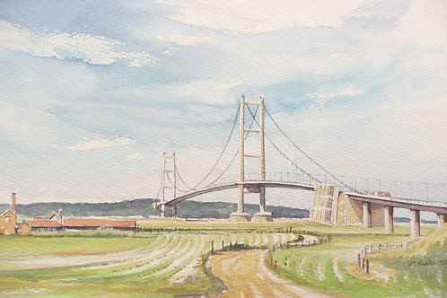 The Humber Bridge, 1985