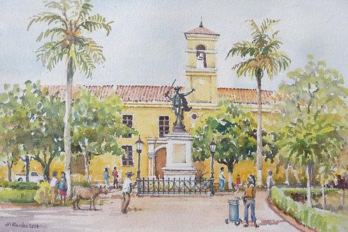 Plaza de San Carlos de Liberled, Mompox, 2014