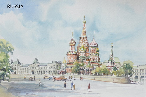 St Basil Cathedral, Moscow, 2004