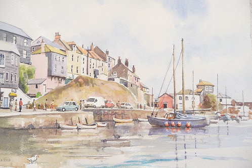 Mevagissey Harbour, Cornwall, 2003