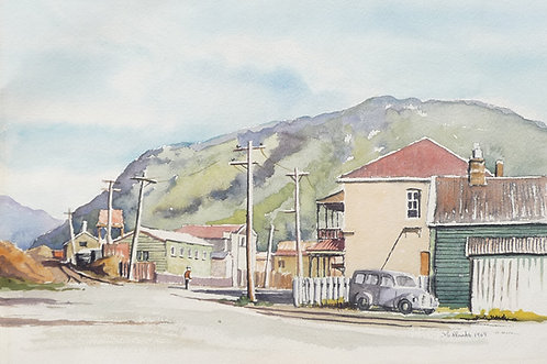Greymouth on South Island, 1969
