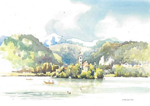 Lake Bled(B), 1982