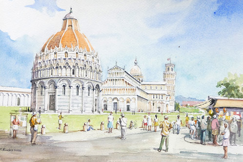 Pisa Cathedral, 2005