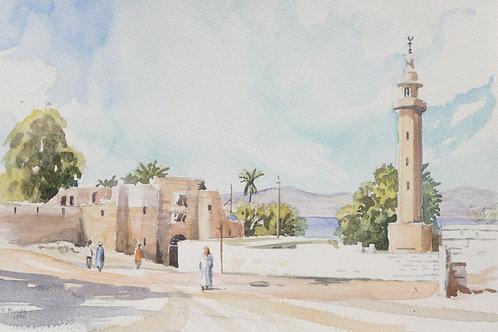 The fortified town of Karak, 1996