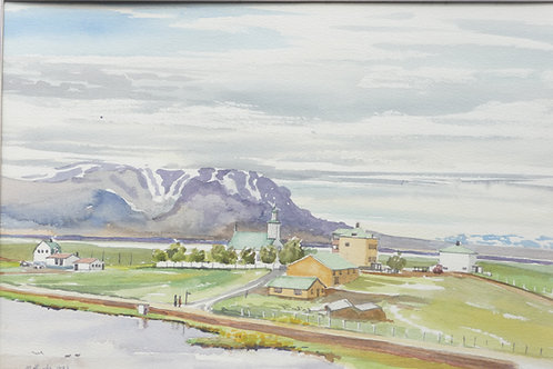 Lake Mývatn, 1983