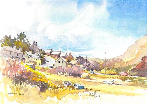 Abercastle Village in Pembrokeshire, 2010