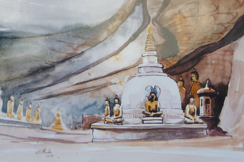Cave Temple at Dumbulla, 1979