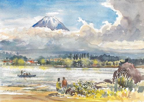 Mount Fuji, 1975