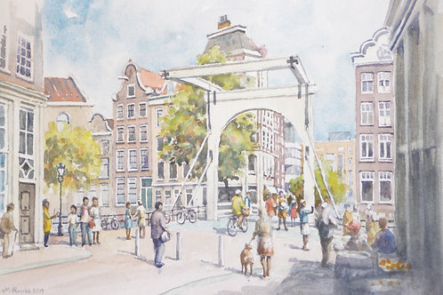Bridge on Staal Street, Amsterdam