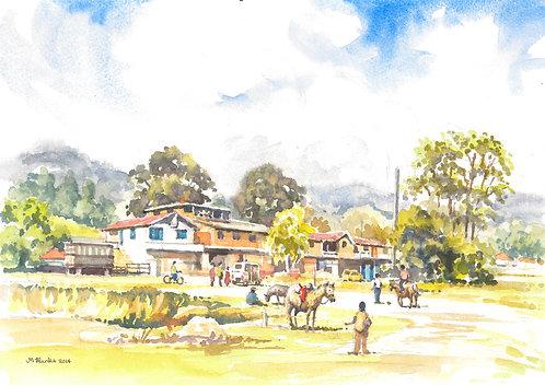 Village near Guatapé, 2014