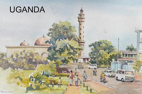 Gaddafi National Mosque, Old Kampala, 2016