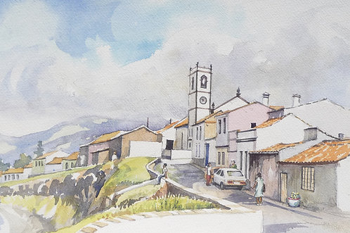 Coastal town on São Miguel