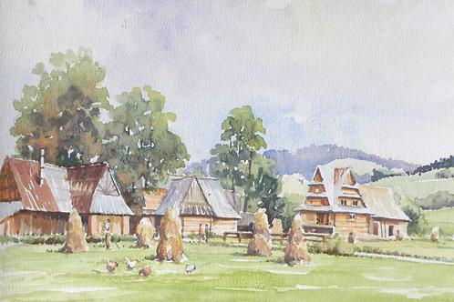 Farm in Zakopone area, 1992