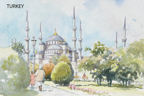 The Blue Mosque of Istanbul, 2004