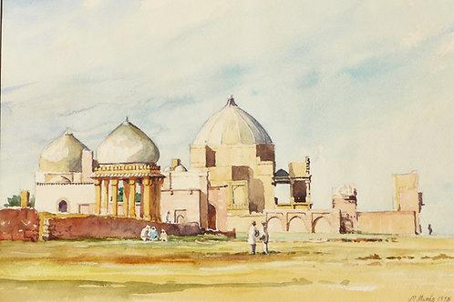 Makli Necropolis at Thatta, 1975
