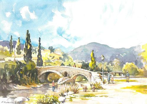 Roman Bridge in Pollensa, 2011