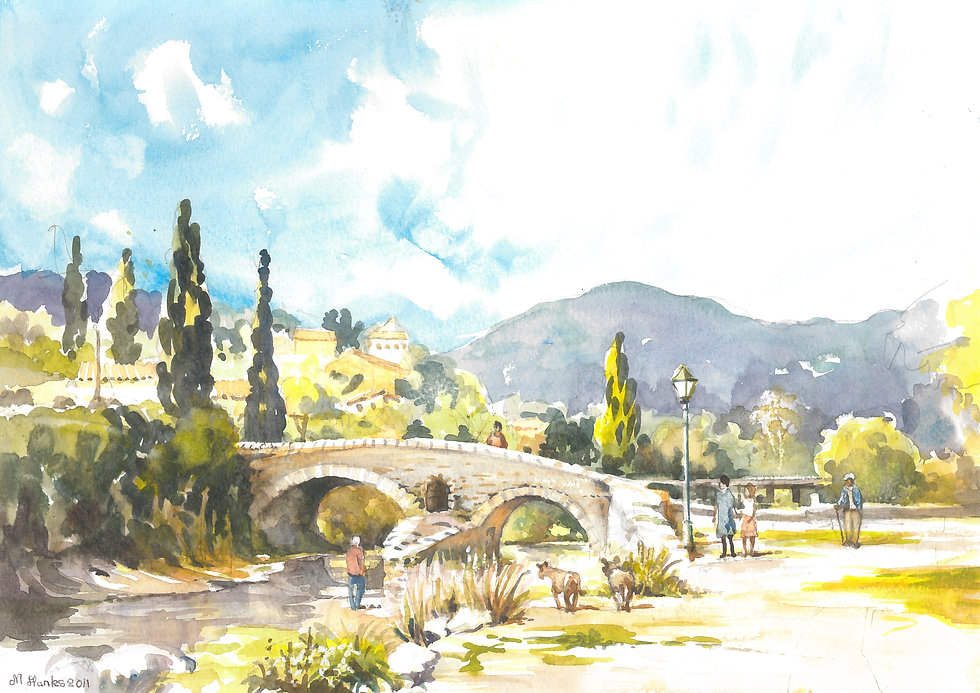 Roman Bridge in Pollensa, 2011 2.jpg