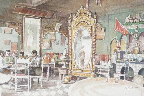 Tea House at Tabarka, 1978
