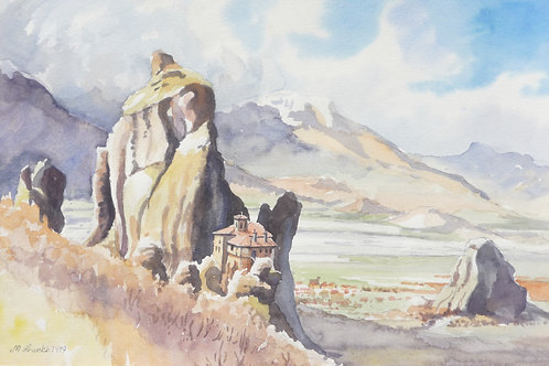 Monastery at Meteora, 1978