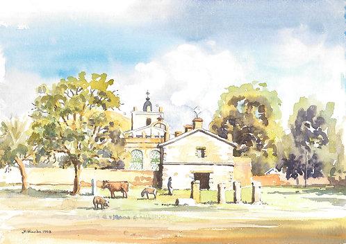 Early church at Axum, 1993
