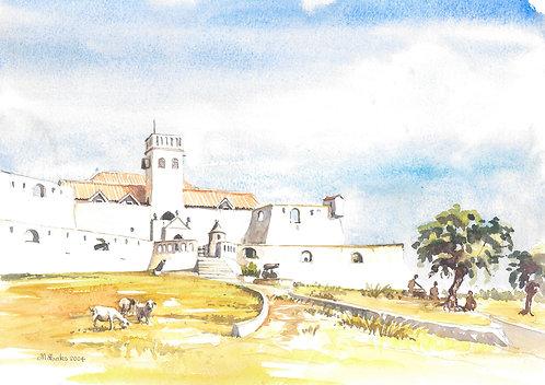 Fort St Jago, Elmina, 2004