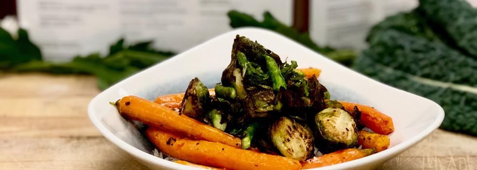 Roasted Heirloom Vegetable Red Curry