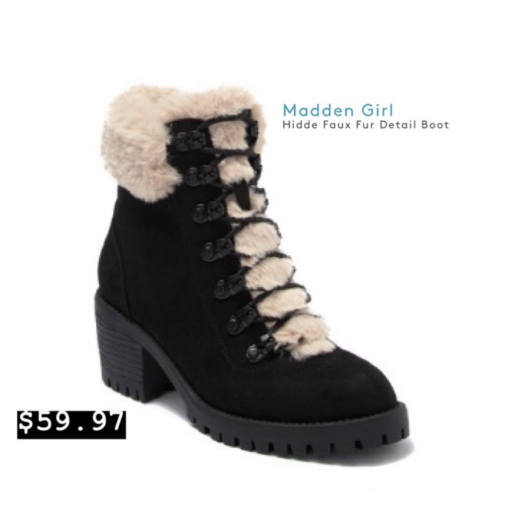 Madden Girl - Faux Fur Detail Boot