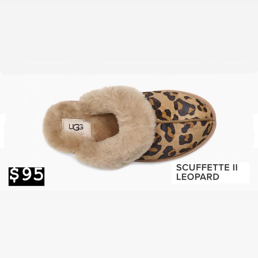 UGG- Leopard Slipper