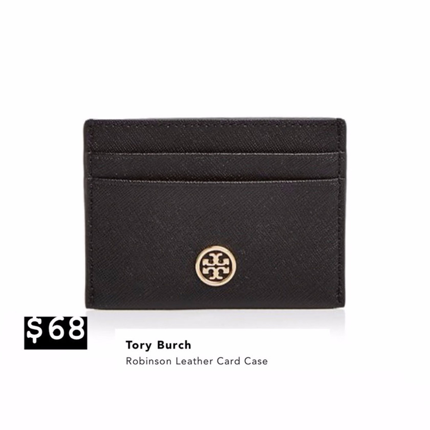 Tory Burch Leather Card Case